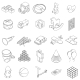 Children Toys Icons Set, Isometric 3d Style