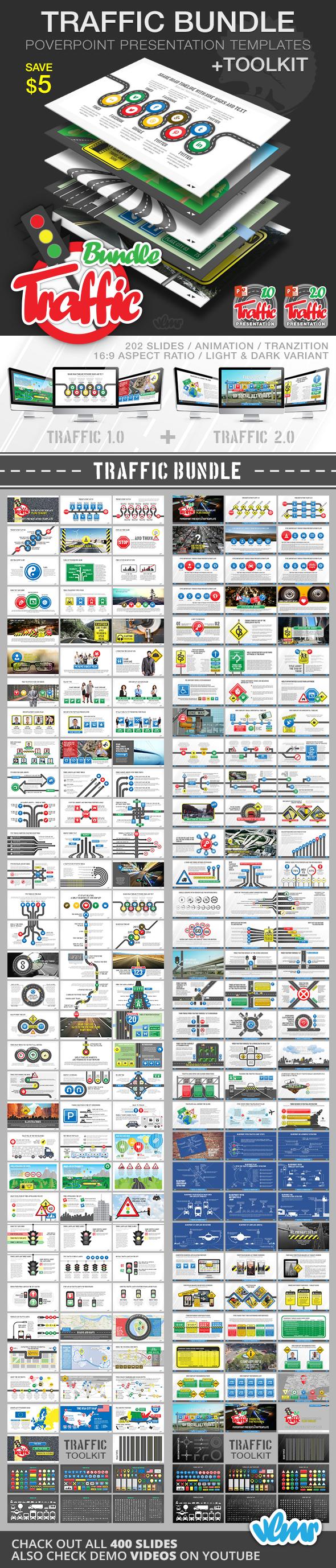 Transportation Presentation Templates From Graphicriver