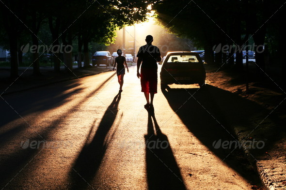 Street scene - Stock Photo - Images