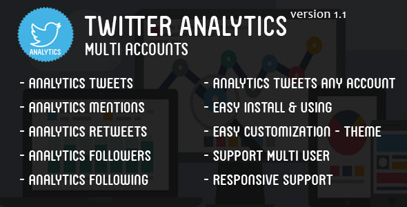 Twitter Analytics Multi Accounts