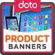 HTML5 Product Sale Banners - GWD - 7 Sizes