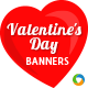 HTML5 Valentine Day Banners - GWD - 7 Sizes