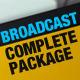 Broadcast Complete Package - VideoHive Item for Sale