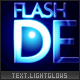 Light glows text effect, external logo or image - ActiveDen Item for Sale