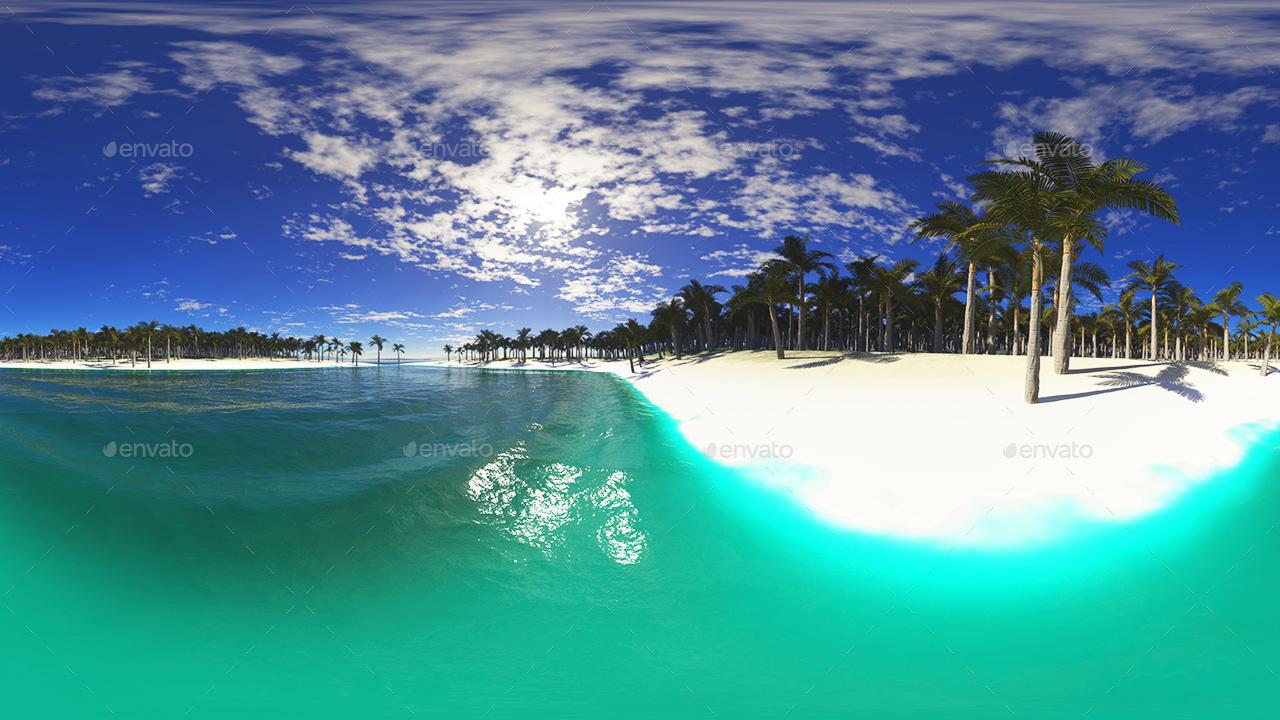 Hdr Tropical Skies By 7030 Artwork 3docean
