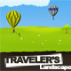 Traveler's Landscape XHTML drawn styled template - ThemeForest Item for Sale