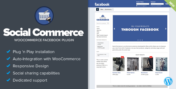 Download Social Commerce - WooCommerce Facebook Tab nulled download