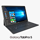 Samsung Galaxy TabPro S with Keyboard Black