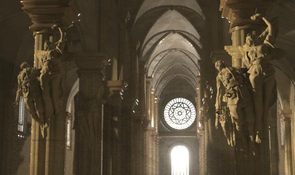 Church interior - 3DOcean Item for Sale
