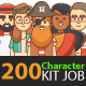 200 Character Kit Job