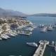 Aerial View Of Porto Montenegro Tivat City