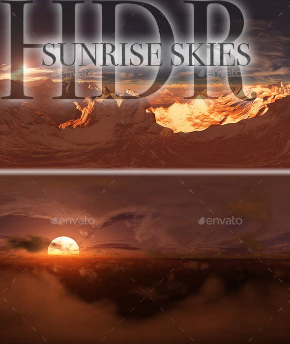 HDR Sunrise Skies - 3DOcean Item for Sale