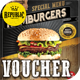 Hamburger Voucher Loyalty Card