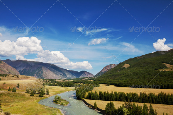 Altai mountains - Stock Photo - Images