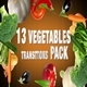 Vegetables Transitions Pack