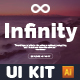 Infinity Header - UI Kit