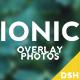 Ionic Overlay Photo