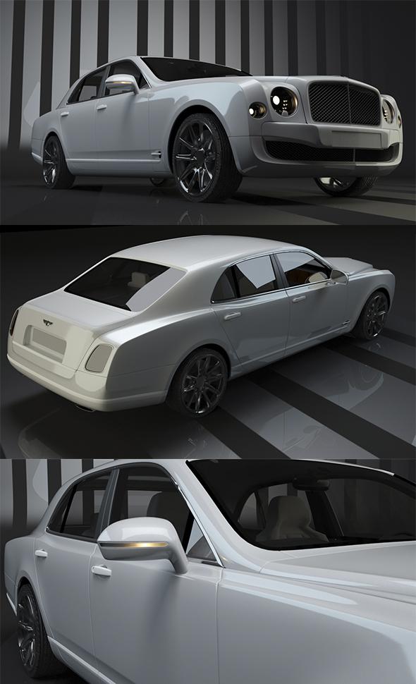 3DOcean Bentley Mulsanne 15523466
