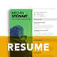 A4 Modern Resume