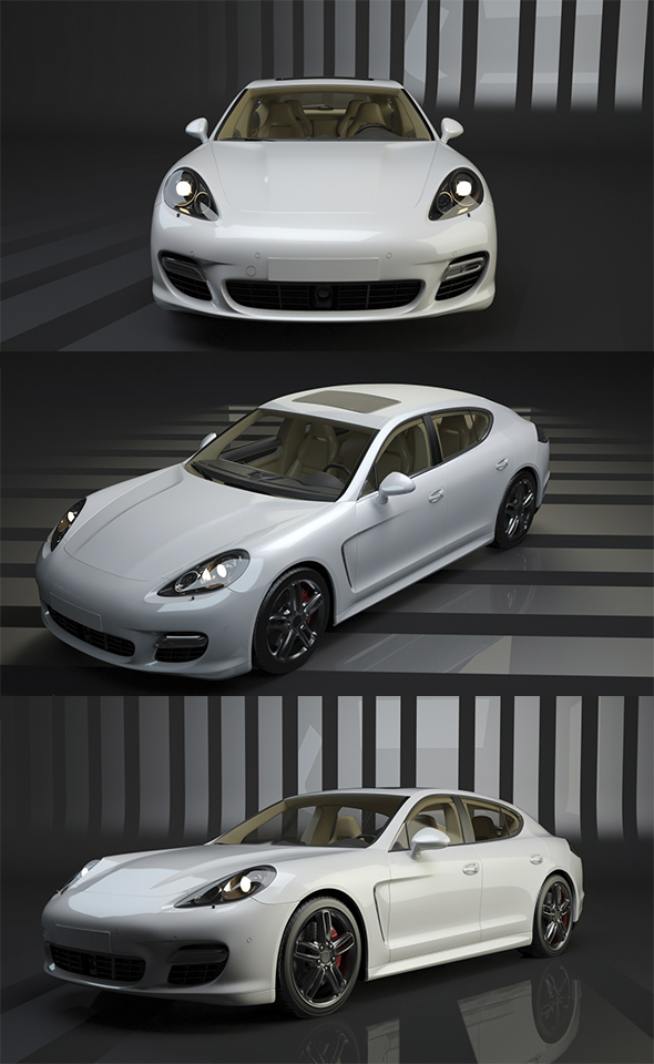 Porsche Panamera - 3DOcean Item for Sale