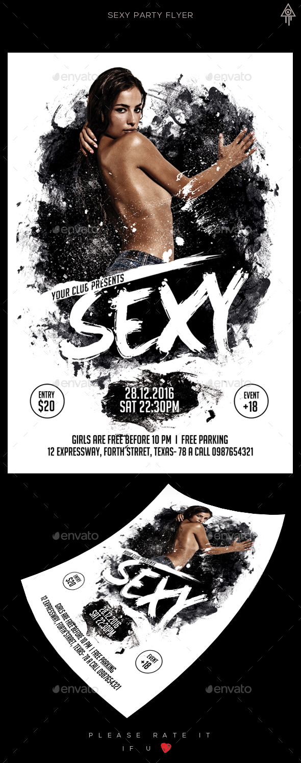 Sexy Party Flyer