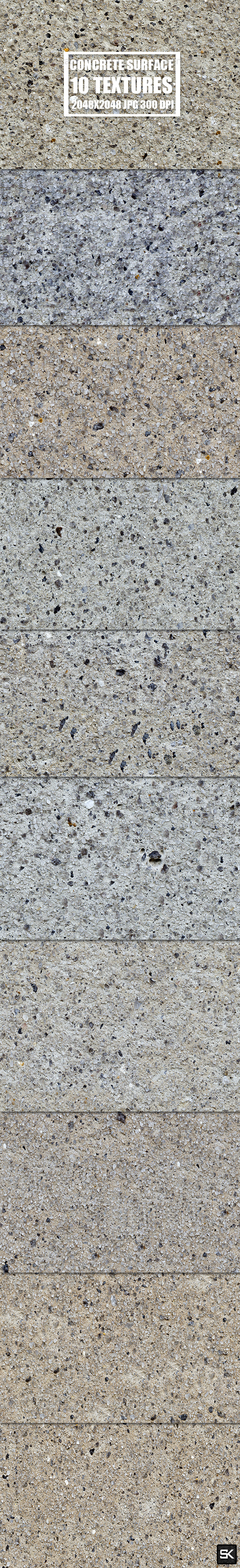 3DOcean Tileable Concrete Surface 15528268