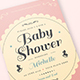 Vintage Baby Shower Invitation/Card