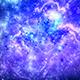 Dark deep space starfield