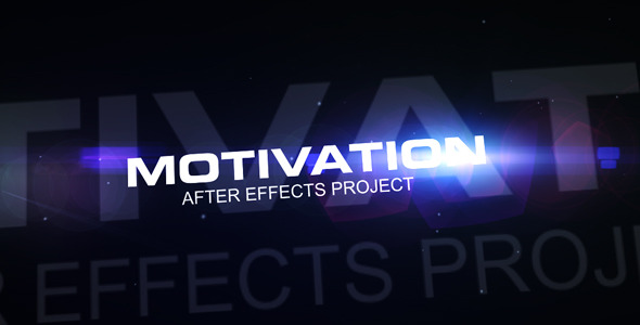 After Effects Project - VideoHive Motivation 1553256