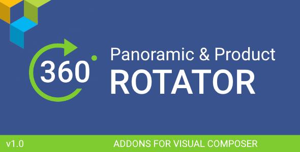 360 Product & Panorama Rotation - Visual Composer Addon
