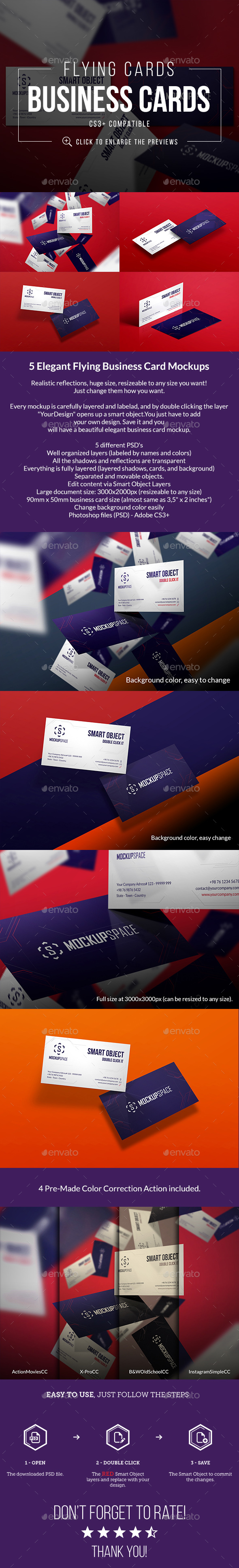 Transparent business card mockup graphics designs templates reheart Gallery