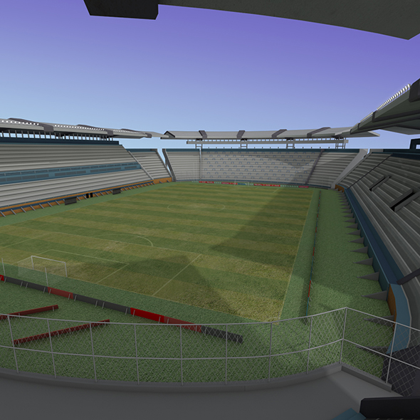 Lowpoly Stadium - 3DOcean Item for Sale