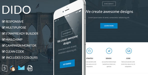 Dido - Responsive Email Template