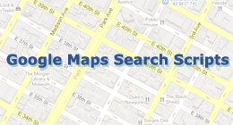 Google Maps Search Scripts