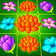 Flower Splash: Match-3 Puzzle Game UI Pack