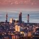 Sunset  Batumi Cityscape