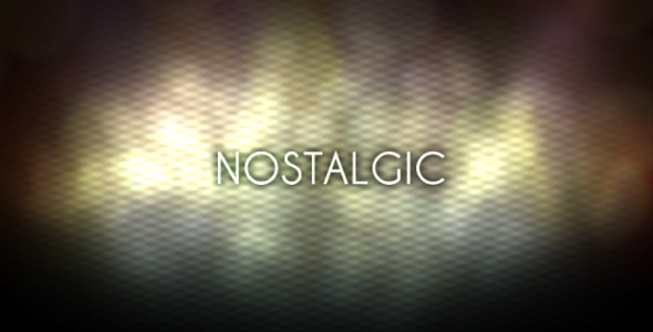 VideoHive Nostalgic Memories 1554715