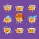 Little Robot Emoji Set