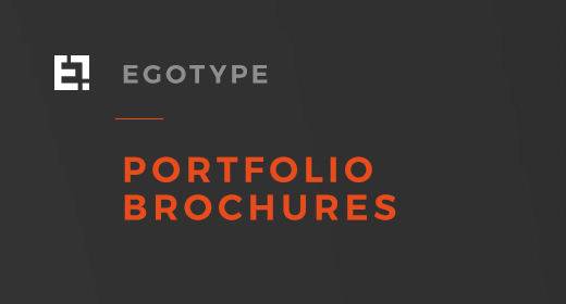 Egotype Portfolio Designs