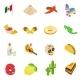Mexico Isometric 3d Icons