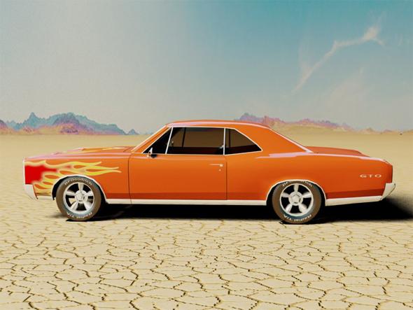Pontiac GTO 1966 - 3DOcean Item for Sale