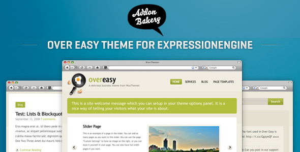 Over Easy - Business EE Theme
