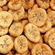 Dried Banana Slices Rotating