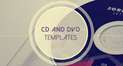 CD and DVD Templates