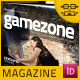 Video Game Magazine Template - GraphicRiver Item for Sale