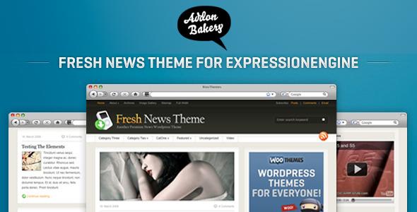 Fresh News - Best-Selling Magazine EE Theme