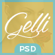 Gelli - PSD Template For Jewelry / Perfume / Accessories Online Shop