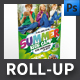 Summer Camp Roll-up Template