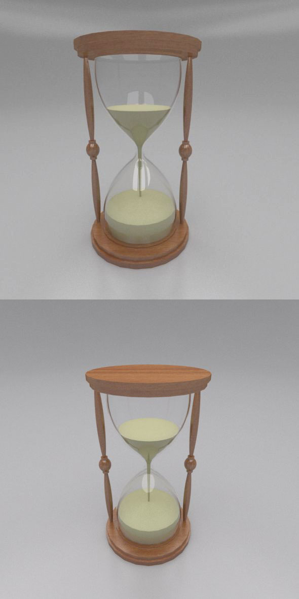 SAND TIMER - 3DOcean Item for Sale