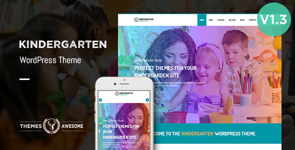 Download Kindergarten WordPress Theme for Children School nulled download